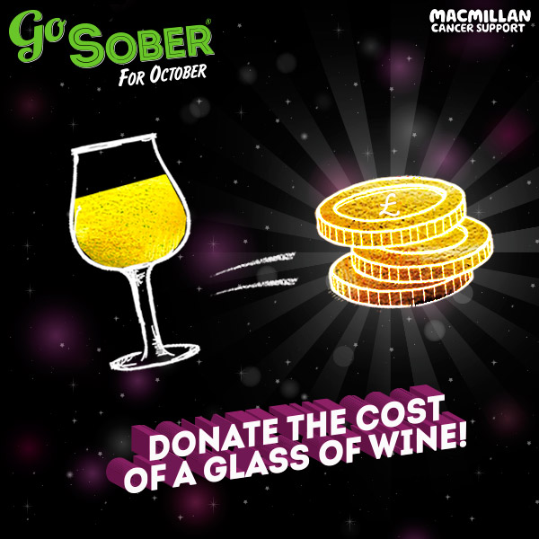 Donate the cost of a wine