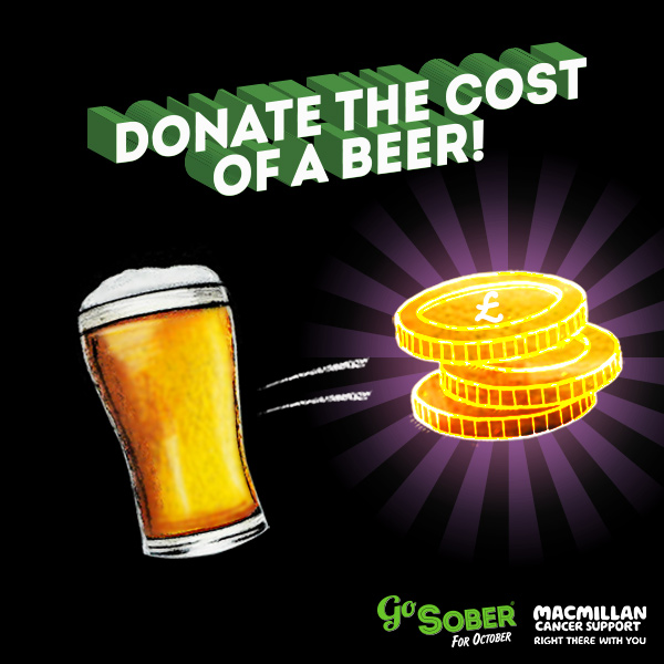Donate the cost of a beer