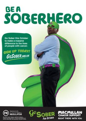 Go Sober Poster - Colour