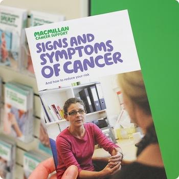 Cancer information resources leaflet